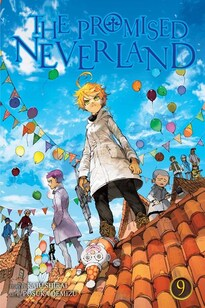 Cover of The Promised Neverland vol 9