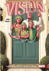 Cover of The Vision volume 1