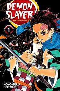 Cover of Demon Slayer vol 1