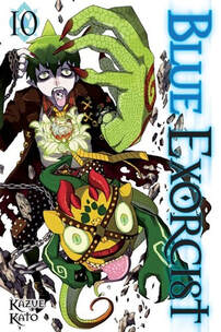 Cover of Blue Exorcist vol 10