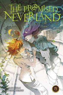 Cover of The Promised Neverland volume 15