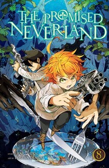 Cover of The Promised Neverland vol 8