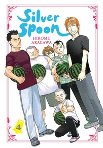 Cover of Silver Spoon Vol 4