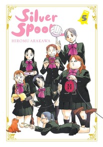 Cover of Silver Spoon vol 5